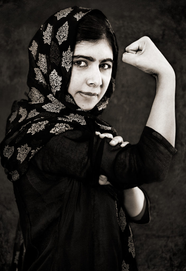 Malala Yousafzai | Photographer - Albert Wiking
