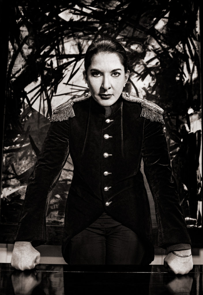 Marina Abramović - Photographer Albert Wiking
